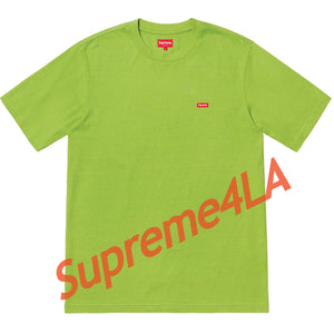 19S/S Small Box Tee Lime