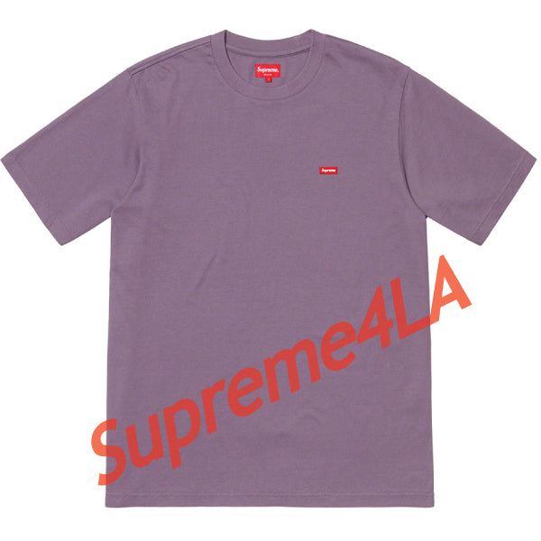 19S/S Small Box Tee Dusty Purple