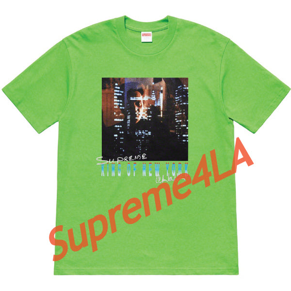 19S/S Christopher Walken King Of New York Tee Green