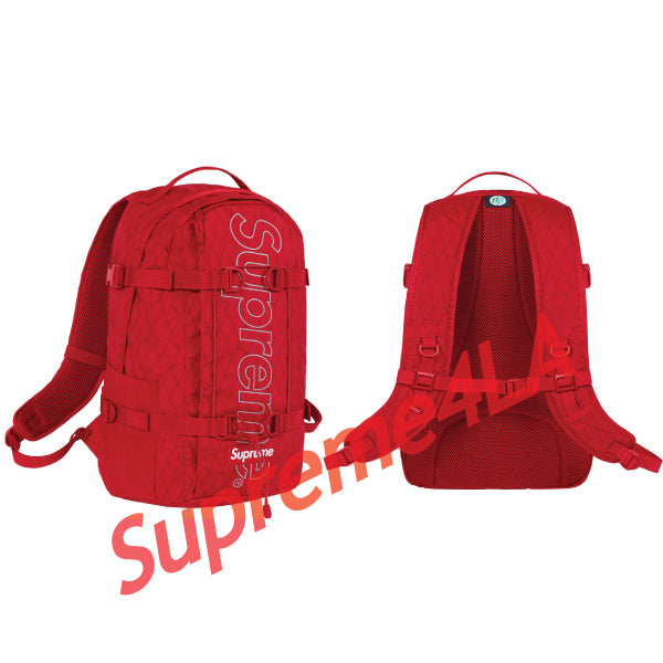 Supreme 18F/W Backpack Red
