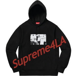 19S/S Classic Ad Hooded Sweatshirt Black