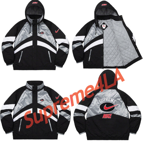 19S/S Nike® Hooded Sport Jacket Silver