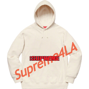 19S/S Blockbuster Hooded Sweatshirt