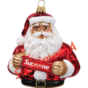 Supreme 18F/W Santa Ornament