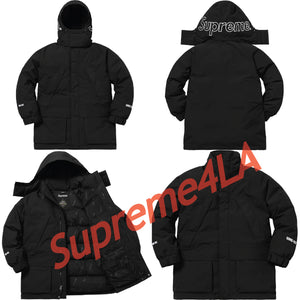 Supreme 18F/W GORE-TEX 700-Fill Down Parka Black