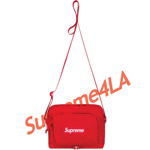 19S/S Shoulder Bag Red