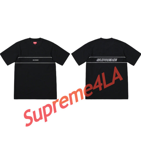 Supreme 19S/S Piping Practice S/S Top Black