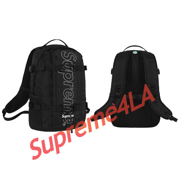 Supreme 18F/W Backpack Black
