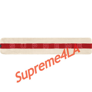 Supreme 18F/W Polartec® Scarf Natural