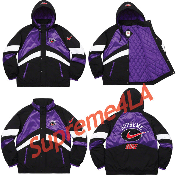 19S/S Nike® Hooded Sport Jacket Purple