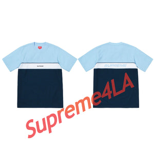 Supreme 19S/S Piping Practice S/S Top Blue