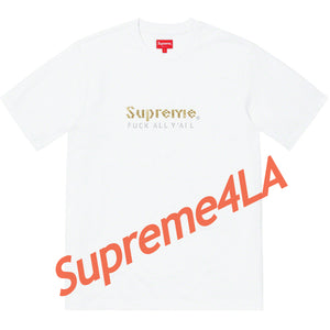 19S/S Gold Bars Tee White
