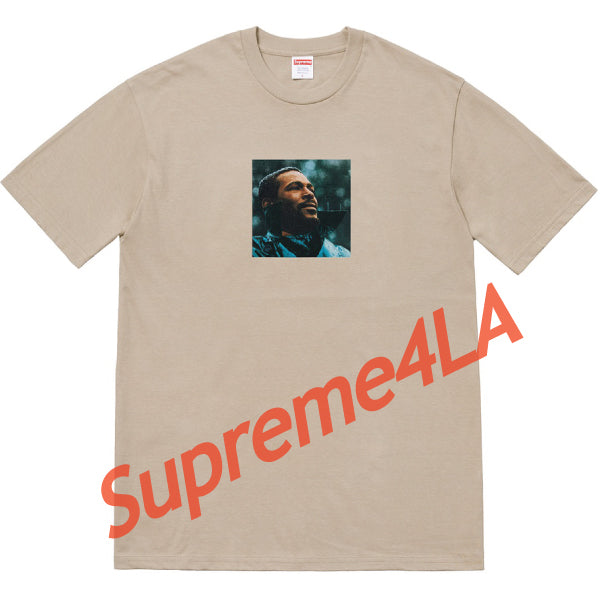 Supreme 18F/W Marvin Gaye Tee Clay