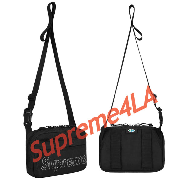 Supreme 18F/W Shoulder Bag Black