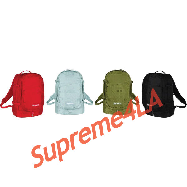 19S/S Backpack Black
