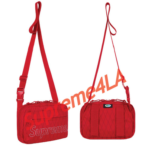 Supreme 18F/W Shoulder Bag Red