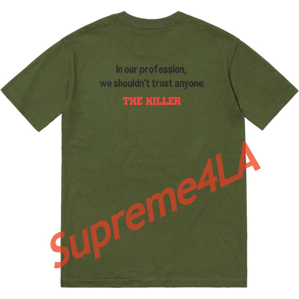 Supreme 18F/W The Killer Trust Tee Olive