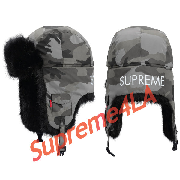 Supreme 18F/W Reflective Camo Trooper Snow Camo