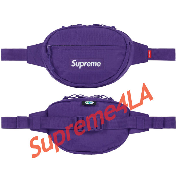 Supreme 18F/W Waist Bag Purple