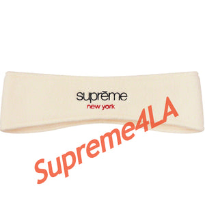 Supreme 18F/W Polartec® Headband Natural