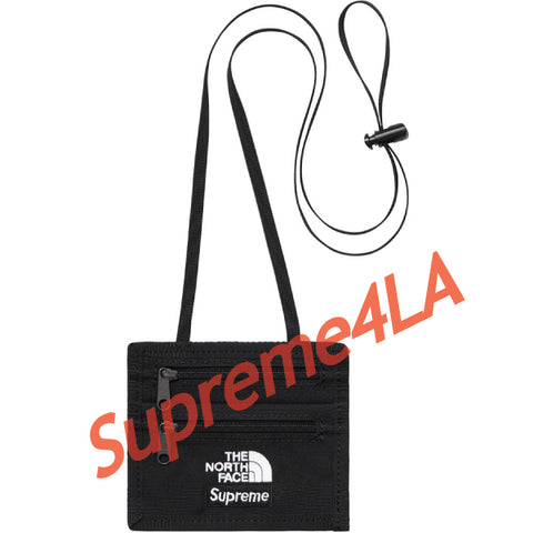 Supreme 18F/W The North Face® Expedition Travel Wallet Black