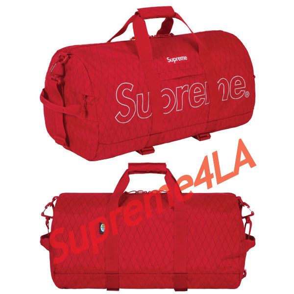 Supreme 18F/W Duffle Bag Red