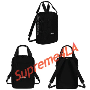 19S/S Tote Backpack Black