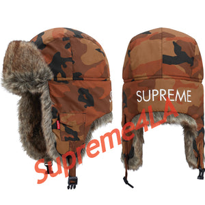 Supreme 18F/W Reflective Camo Trooper Orange Camo