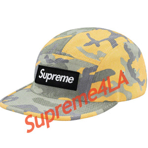 19S/S Washed Out Camo Camp Cap yellow camo