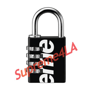 19S/S Master Lock® Numeric Combination Lock Black