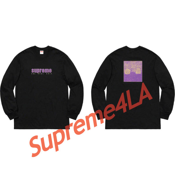 19S/S The Real Shit L/S Tee Black