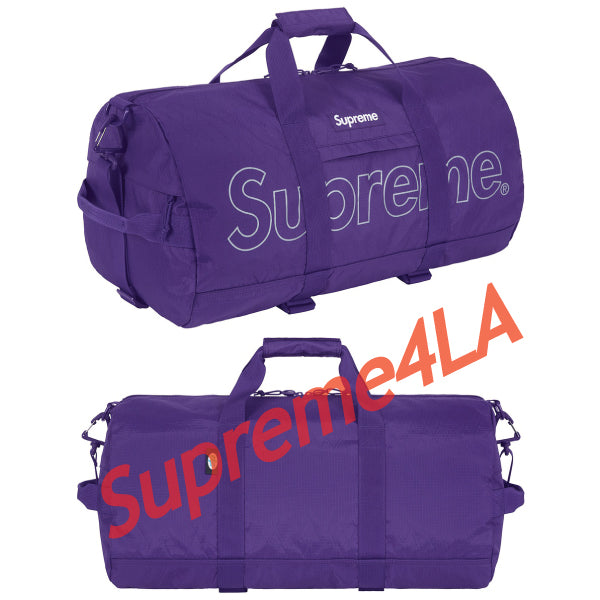 Supreme 18F/W Duffle Bag Purple