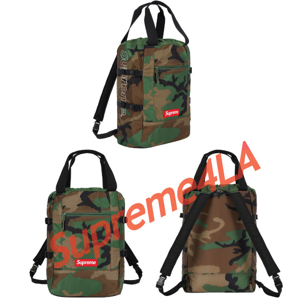 19S/S Tote Backpack Camo