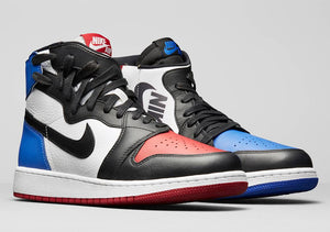 Nike Air Jordan 1 Rebel Top 3 Pick Black Varsity Royal