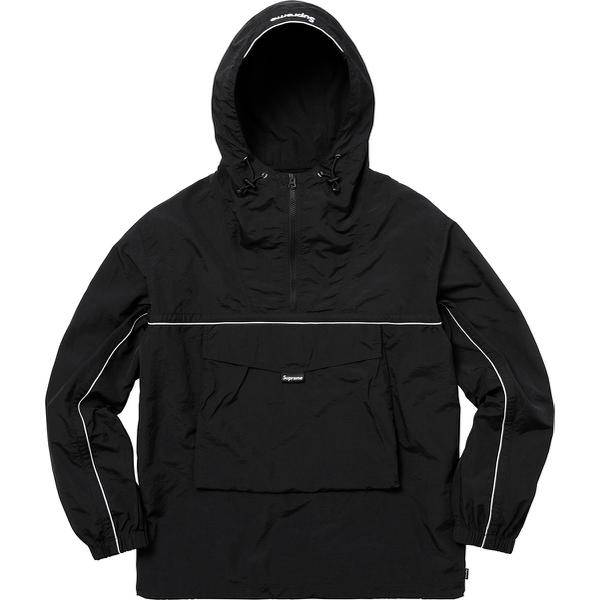 Supreme 18S/S Split Anorak Black