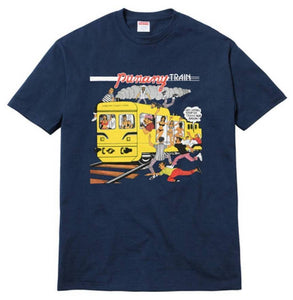 Supreme 17S/S Limonious Punany Train Tee Navy
