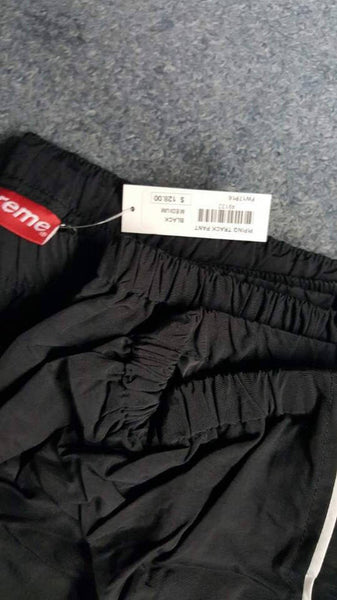 Supreme 17F/W Piping Track Pant Black
