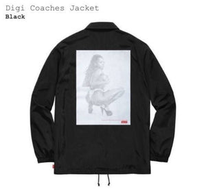 Supreme 17S/S Digi Coaches Jacket Black