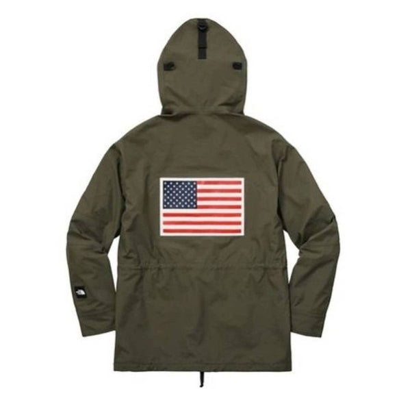Supreme 17S/S TNF Expedition Gore-Tex Pullover Olive