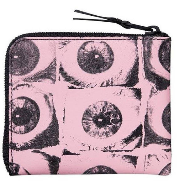 Supreme 17S/S CDG Eyes Wallet Pink