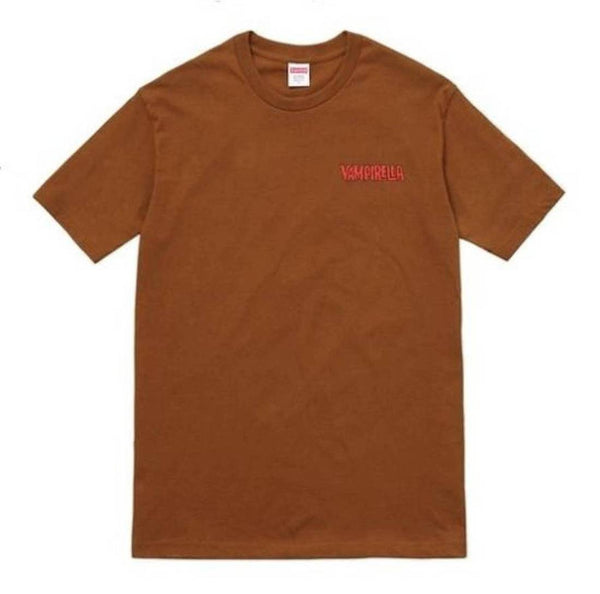 Supreme 17S/S Vampirella Card Tee Brown