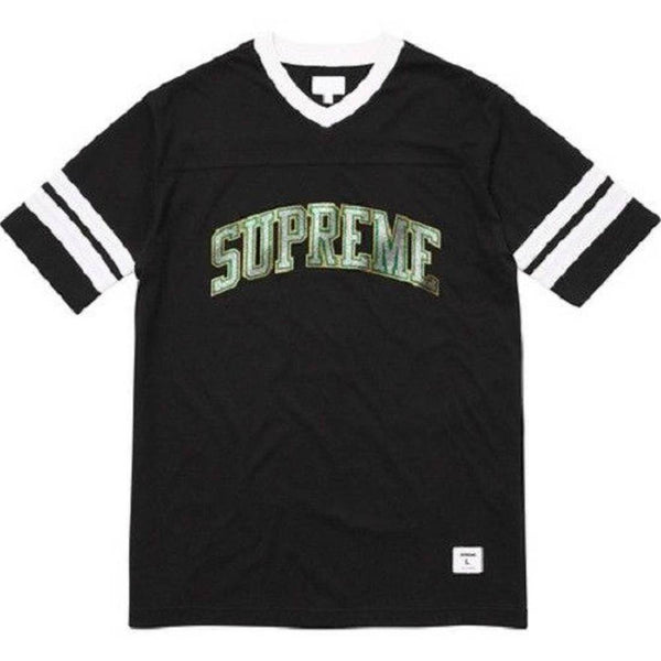 Supreme 17F/W Glitter Arc Football Top Black