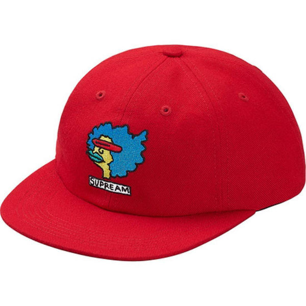Supreme 17F/W Gonz Ramm 6-Panel Hat Red