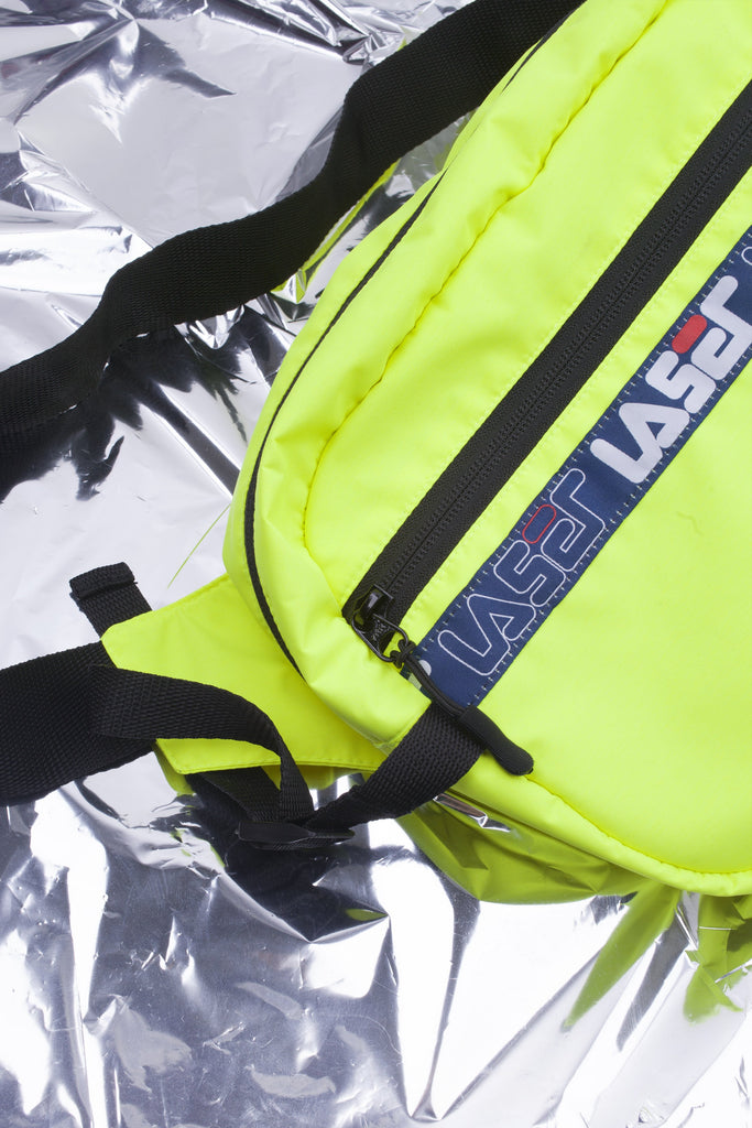 LASER 1993 TECH BUM BAG NEON