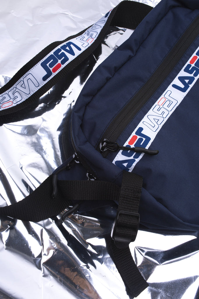 LASER 1993 TECH BUM BAG NAVY