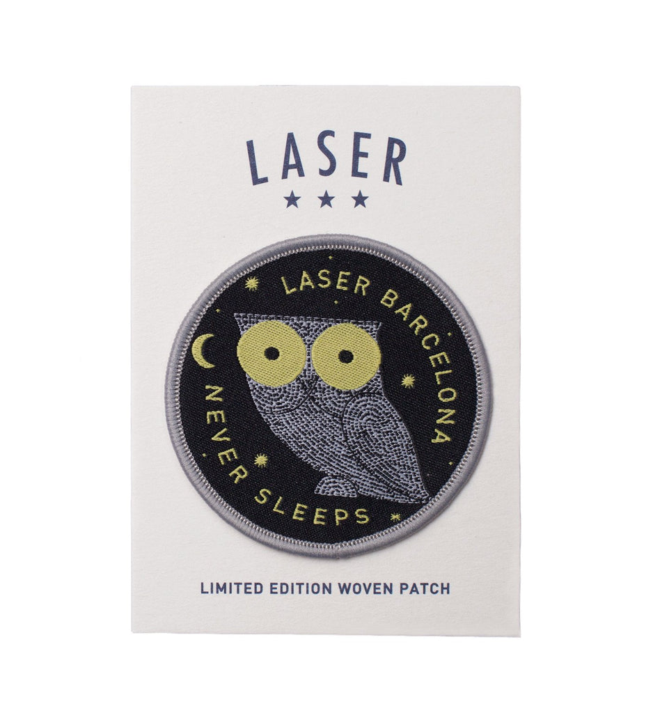 LASER WE NEVER SLEEP PATCH