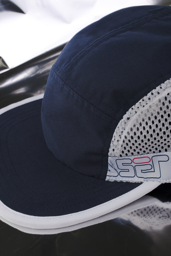 LASER 1993 TECH 5 PANEL HAT NAVY