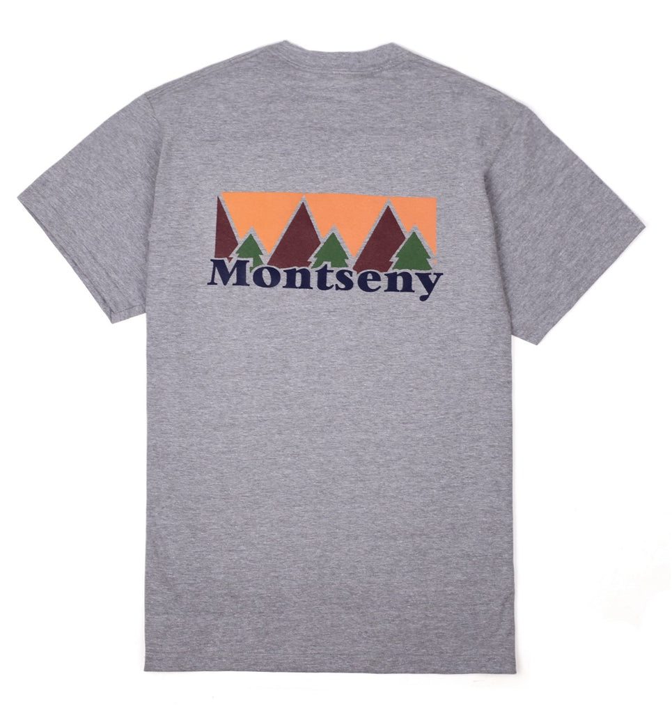 MONTSENY TEE HEATHER GREY