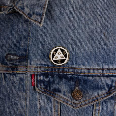 WELCOME TALISMAN LOGO ENAMEL PIN