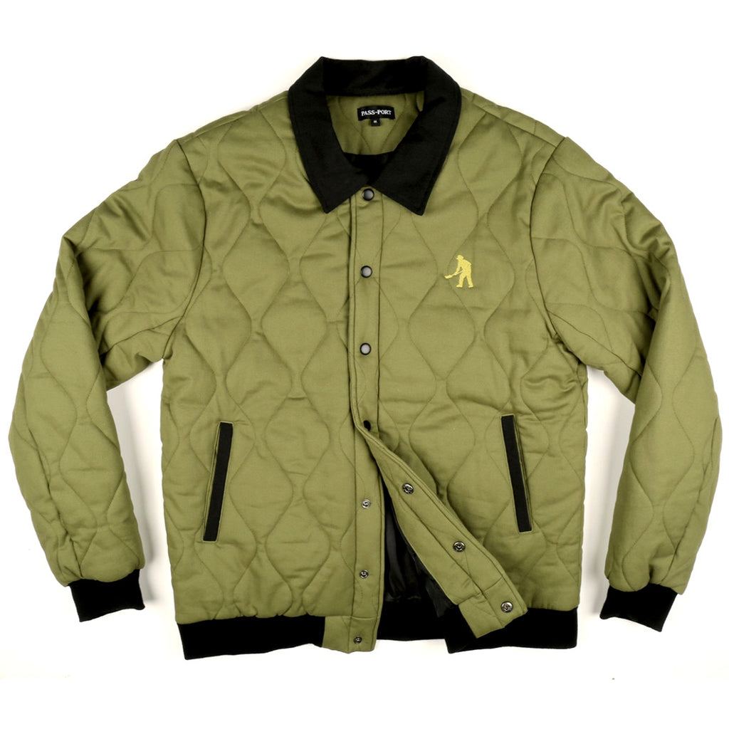 PASS-PORT LATE QUELID JACKET MILITARY GREEN